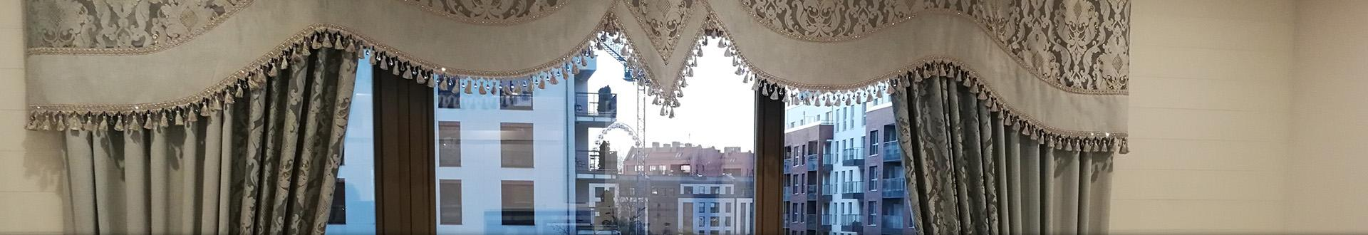 Firany w oknie - Banner